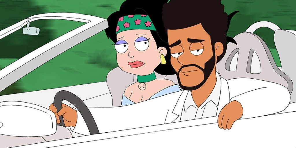 The Weeknd American Dad